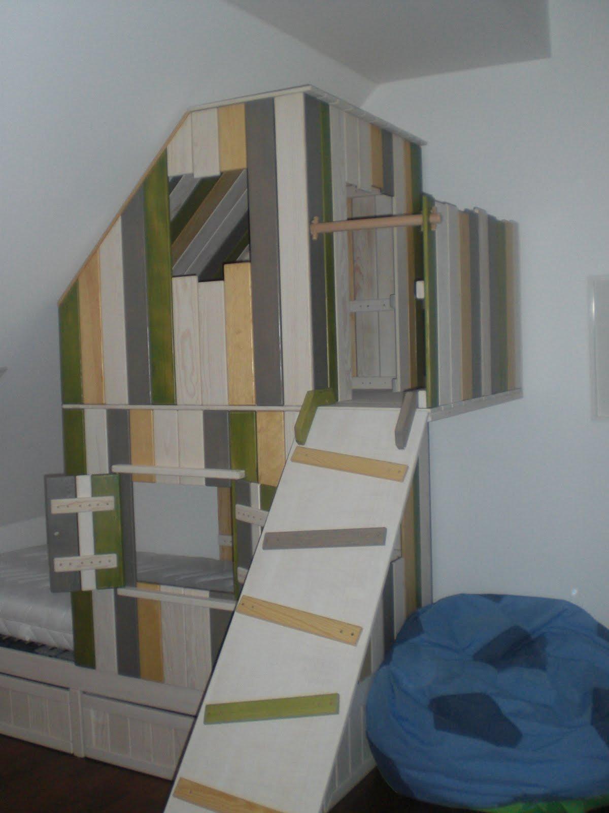biotischler baumhaus f rs kinderzimmer. Black Bedroom Furniture Sets. Home Design Ideas