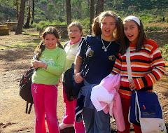 Isa,Ángela,María y Paula