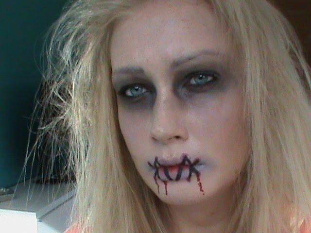 easy girl zombie makeup - photo #11