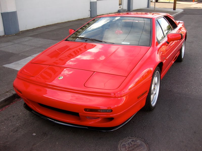OLD PARKED CARS.: 1994 Lotus Esprit S4.