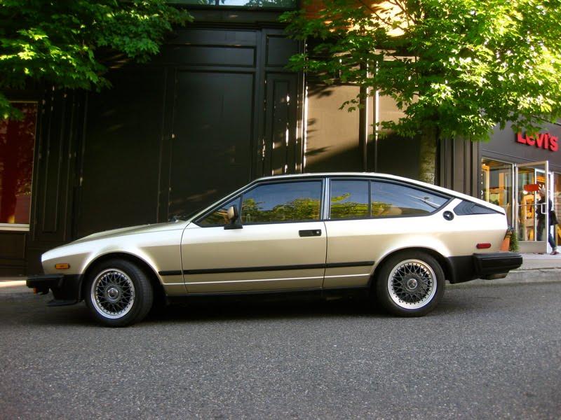 1984 Alfa Romeo Gtv6. 1982 Alfa Romeo GTV6.