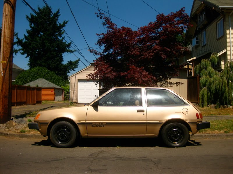 Dodge Colt Dl. 1980 Dodge Colt Hatchback.