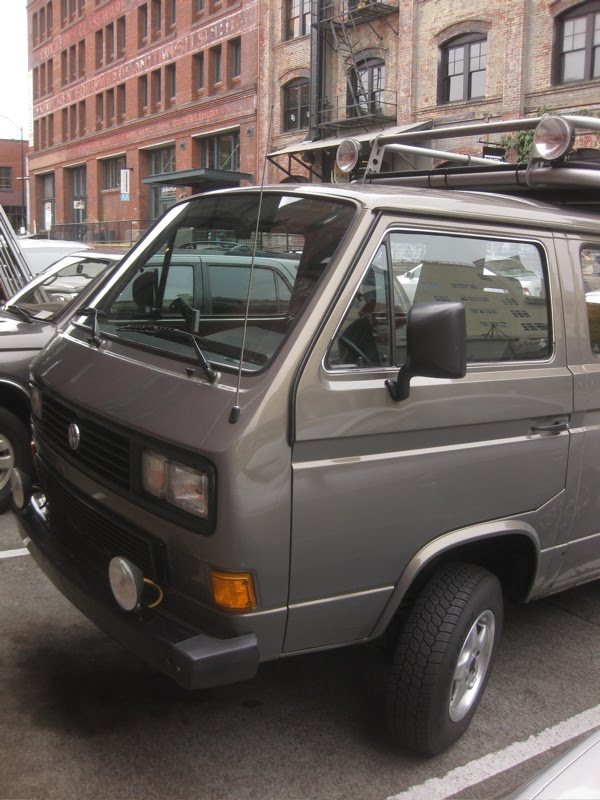 Old Parked Cars Vw 4x4 2 Of 2 1987 Volkswagen Transporter Vr6 Syncro