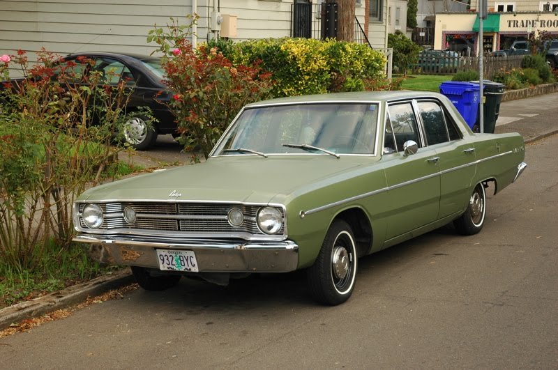 Old Parked Cars Dodge Dart Sedan