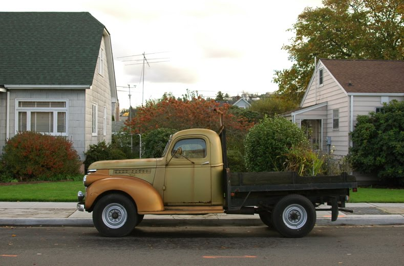 Unusual Chevy Pickup #2 of 2: 1946 Chevrolet 1/2 Ton Flatbed With Moss