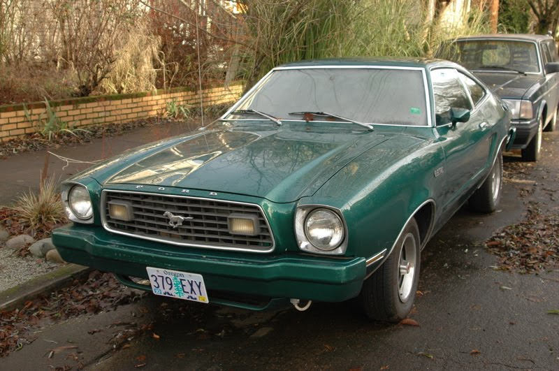 old parked cars 1975 ford mustang ii mach 1 electric. Black Bedroom Furniture Sets. Home Design Ideas