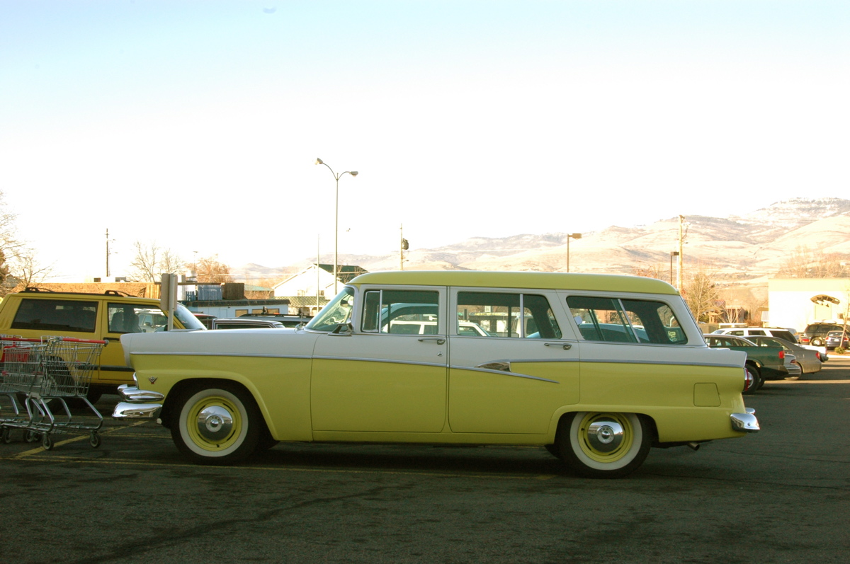 1956 ford country squire smcars net car blueprints forum - Filename 1956 Ford Customline Country Sedan Station Wagon 3 Jpg