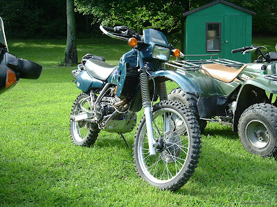 blue green klr250 1997 1998