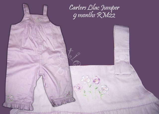 Carters - Lilac Romper/Jumper