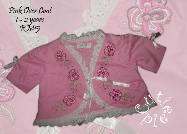 Pink Embroidery Coat