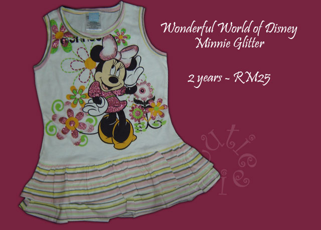 Wonderful World of Disney Minnie Glitter