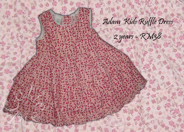 Adam Kids Ruffle Dress
