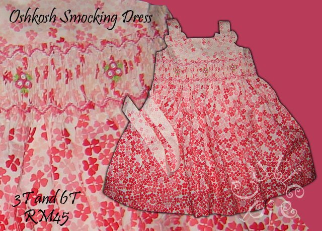 Oshkosh Smocking Dress