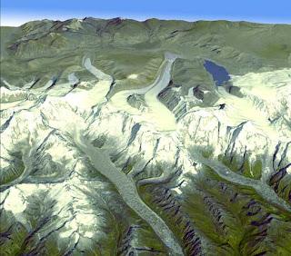 Himalayan glaciers in Bhutan