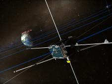 The five spacecraft of THEMIS were built to answer fundamental questions about auroras