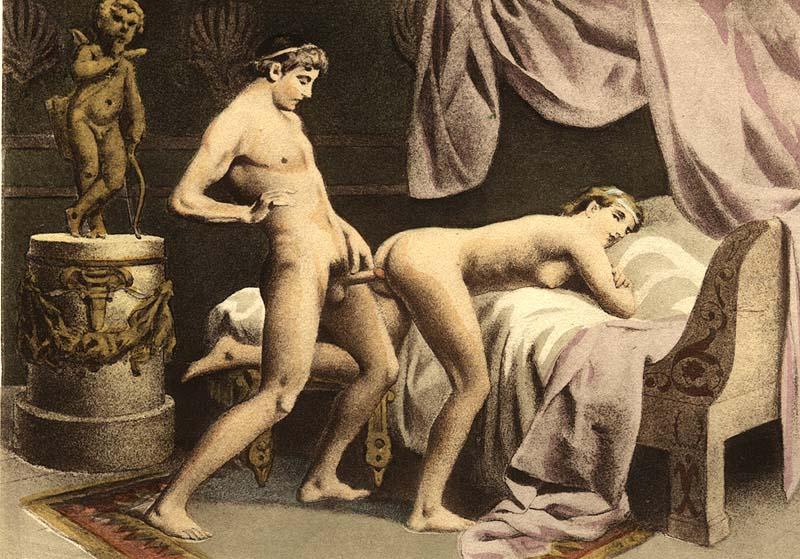 image Antigua pornografía joven adolescente follada en la sauna da una mamada