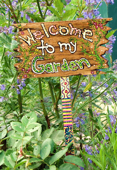 Handpainted Garden Sign