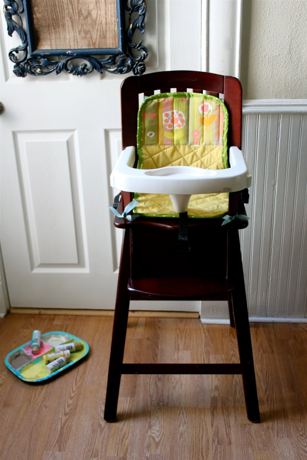 Smile And Wave High Chair Seat Cover Tutorial