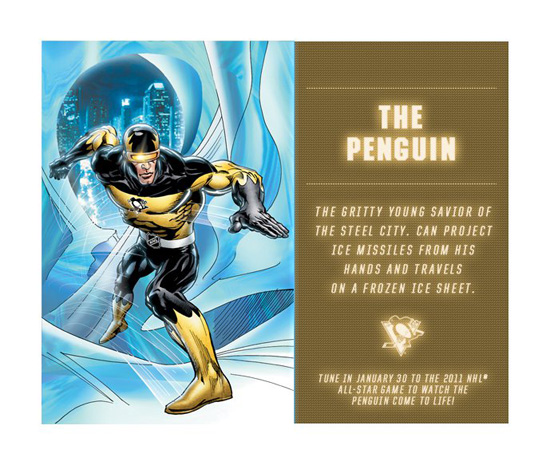 NHL & Stan Lee Unveil 3 Of The Guardian Project Superheroes