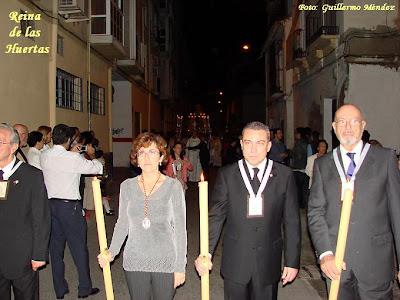 María del Carmen García reelegida para el cargo de Hermano mayor de la Virgen del Carmen
