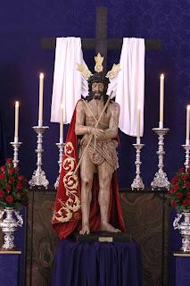 El Señor de la Humildad y Paciencia estará hoy expuesto en Besapié