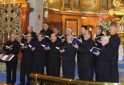 Hoy concierto de la 'Schola Gregoriana' de Murcia en la Virgen del Mar