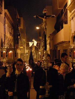 Mañana sale el Vía+Crucis del Silencio