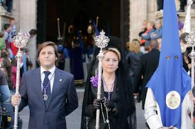 Eloisa Cabrera Carmona exaltará esta tarde a la Virgen de los Dolores