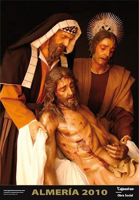 El Cristo de la Caridad protagoniza el cartel de Cajasol
