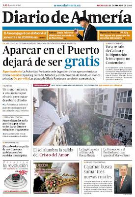 El Martes Santo en la prensa