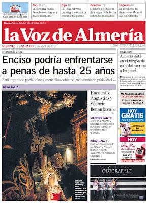 El Jueves Santo en la prensa