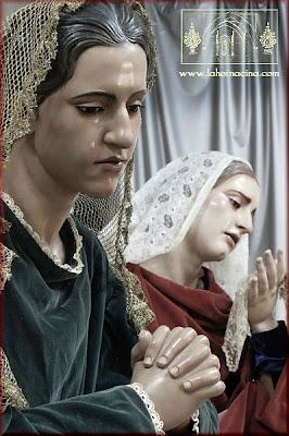 Salomé y la de Cleofás, las dos Santas Mujeres que completan el misterio del Traslado al Sepulcro