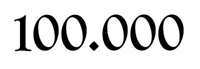 100.000 visitas en dos años, dos meses y dos días
