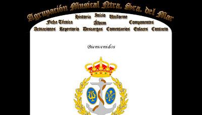 Nuevo dominio para la web de la A.M. 'Ntra. Sra. del Mar'