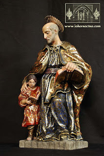 San José de Calasanz completa la imaginería del canasto de la Oración