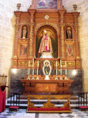 San Indalecio vuelve a presidir su capilla