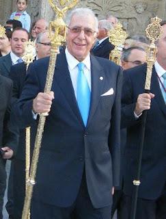 Luis Criado reelegido Hermano mayor de la Soledad