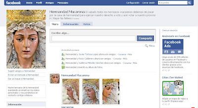 La Esperanza Macarena en Facebook
