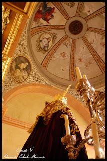 Finaliza el montaje del altar de cultos de la Merced