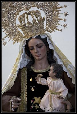 Mañana comienza el Triduo de la Virgen del Carmen del Zapillo
