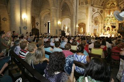 El obispo preside una Función en el santuario de la Virgen del Mar