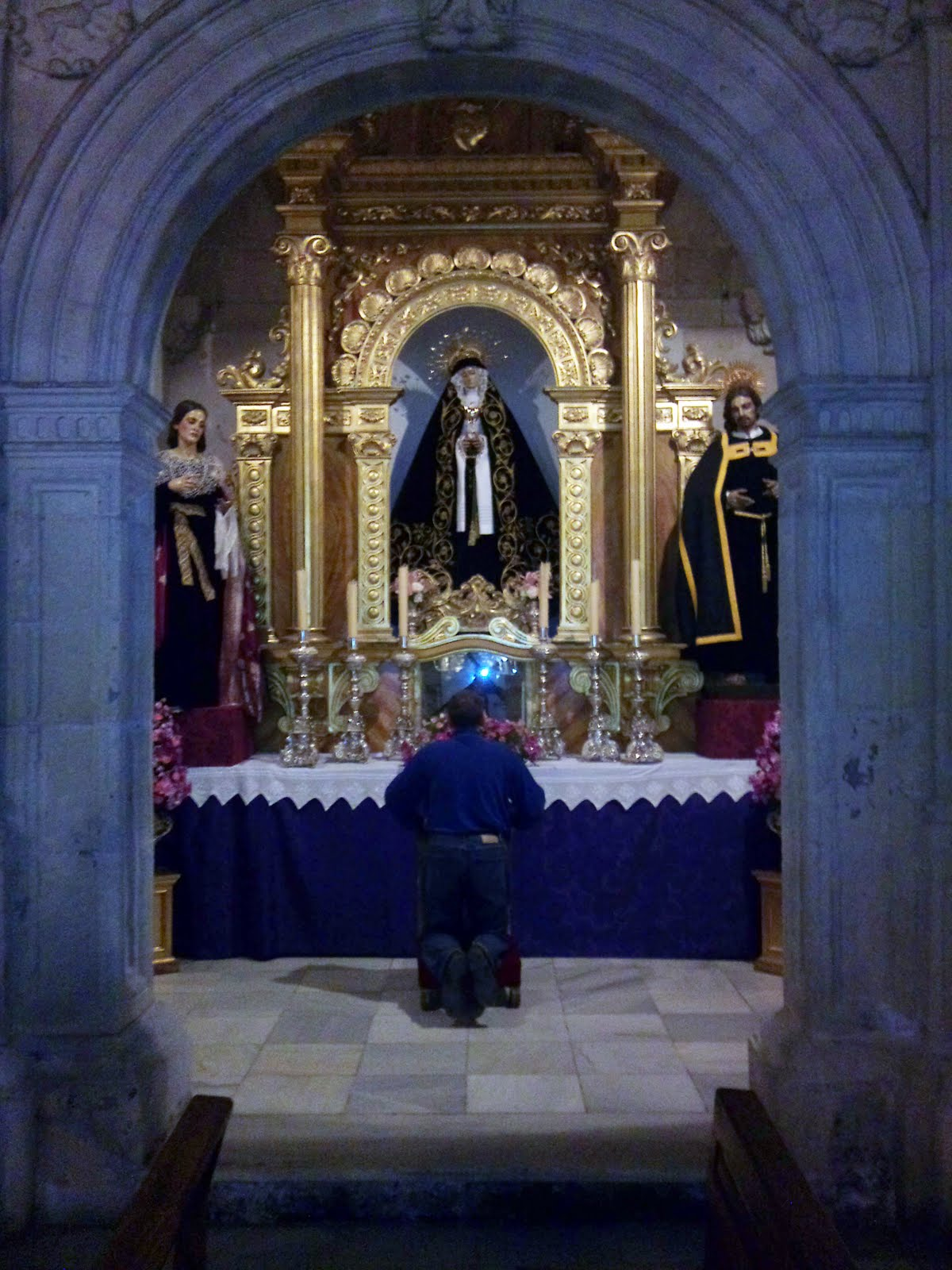 La Magdalena de la Vuelta del Sepulcro en la capilla de Santa Lucía