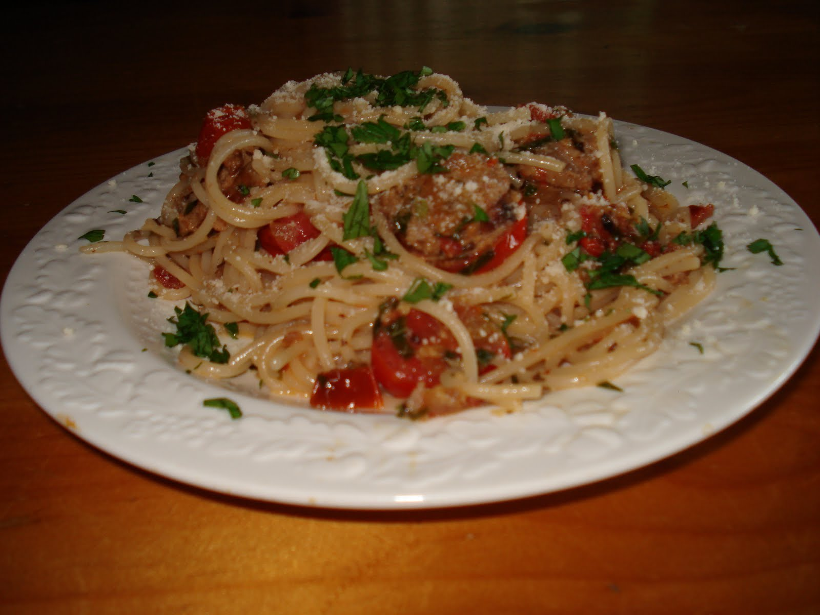 ... Gluten Free for Life: Pasta with Turkey Sausage and Grape Tomatoes