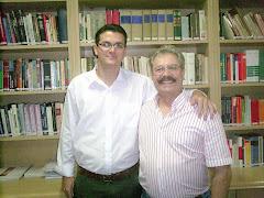 Eu e Juarez Cirino dos Santos