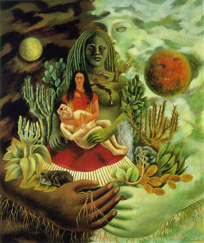 """Esposo infiel"" de Frida Kahlo"