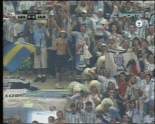 Trapo en el Mundial Alemania 2006