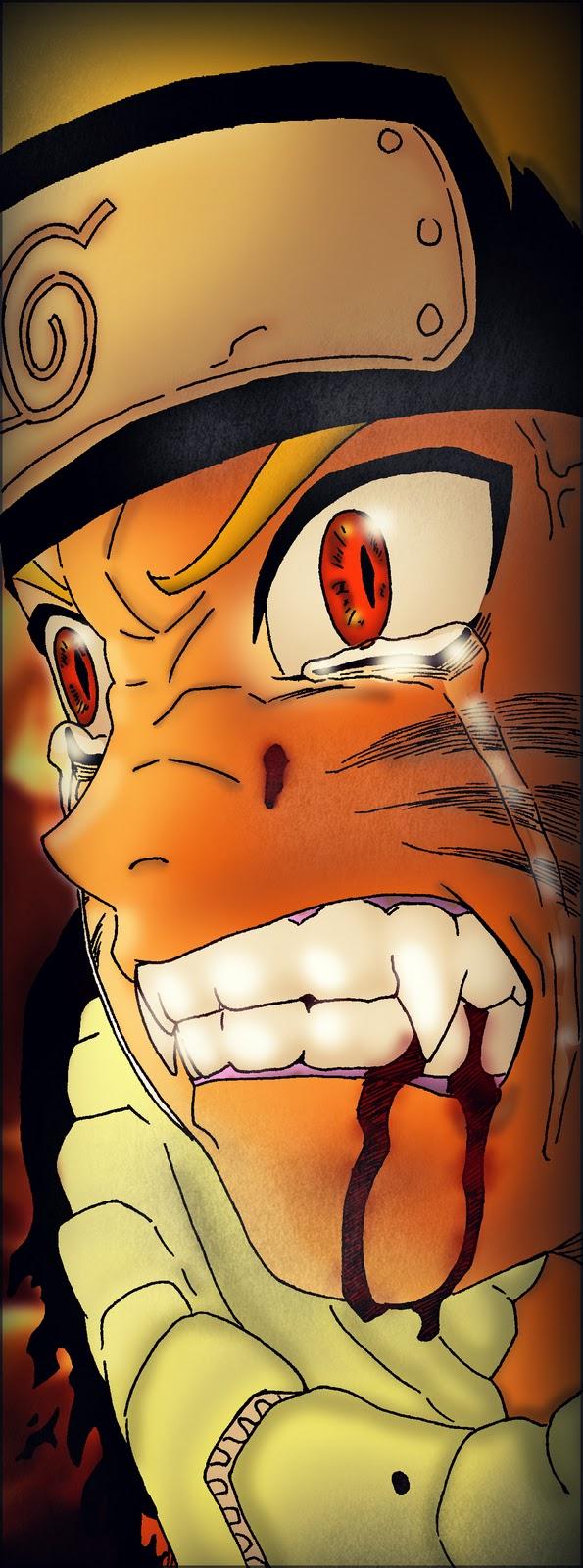 Naruto coloreado con Photoshop  Distrito Bore