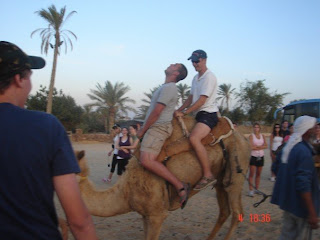 Gab taming bucking camel