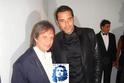 Roberto Carlos no aniversário de 80 anos de Hebe Camargo. - Blog *Roberto Carlos Braga*