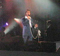 Roberto traz o show 'Orquestra e Coral', em 27 de agosto de 2007. Foto exclusiva, na qual RC olhou pra nossa câmera !